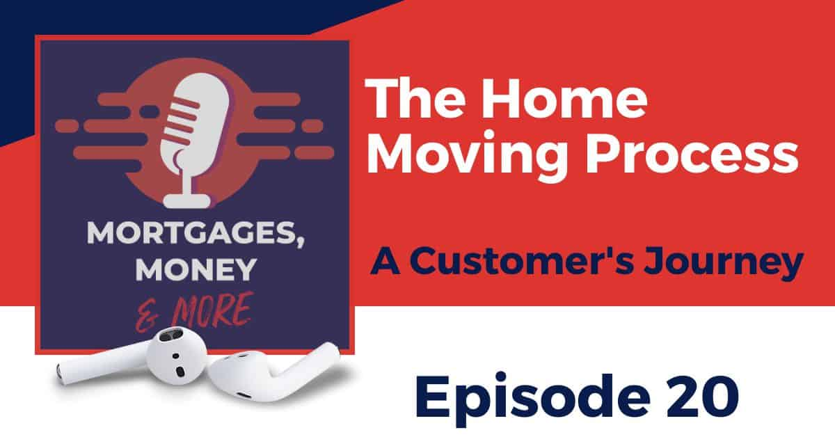 A customers journey through the home moving process